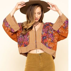 Free People | Mix n Match Printed Blouse